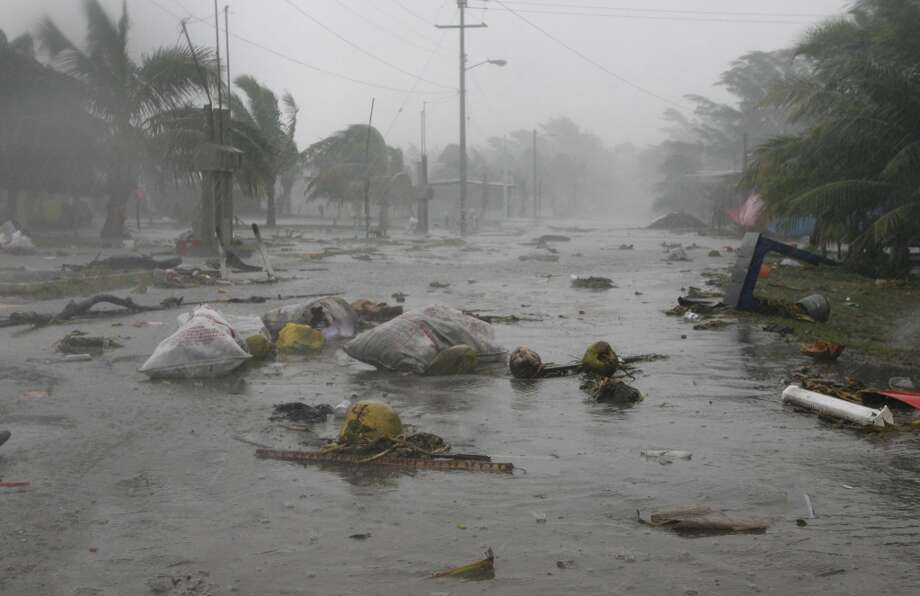 Hurricane Dean hit in 2007. Photo: James Nielsen, Houston Chronicle