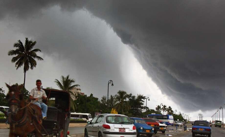 Hurricane Noel  hit in 2007. Photo: ADALBERTO ROQUE, AFP/Getty Images