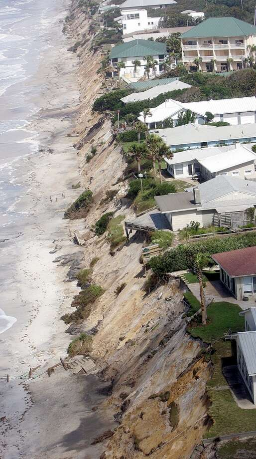 Hurricane Dennis hit in 2005. Photo: PHIL COALE, AP