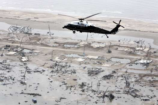 Hurricane Rita hit in 2005. Photo: JASON REED, Reuters