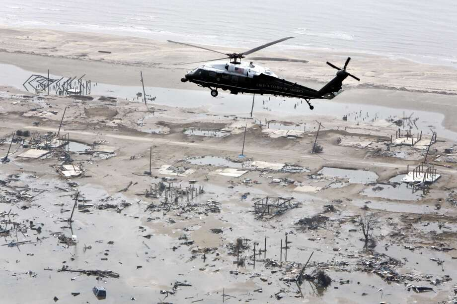 Hurricane Rita hit in 2005. Photo: JASON REED, Reuters