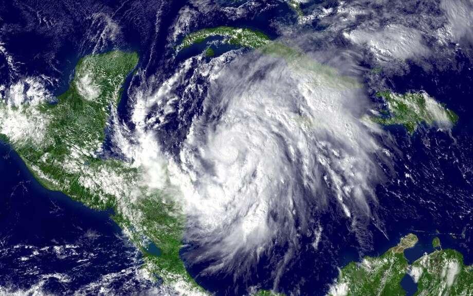 Hurricane Wilma hit in 2005. Photo: HO, REUTERS
