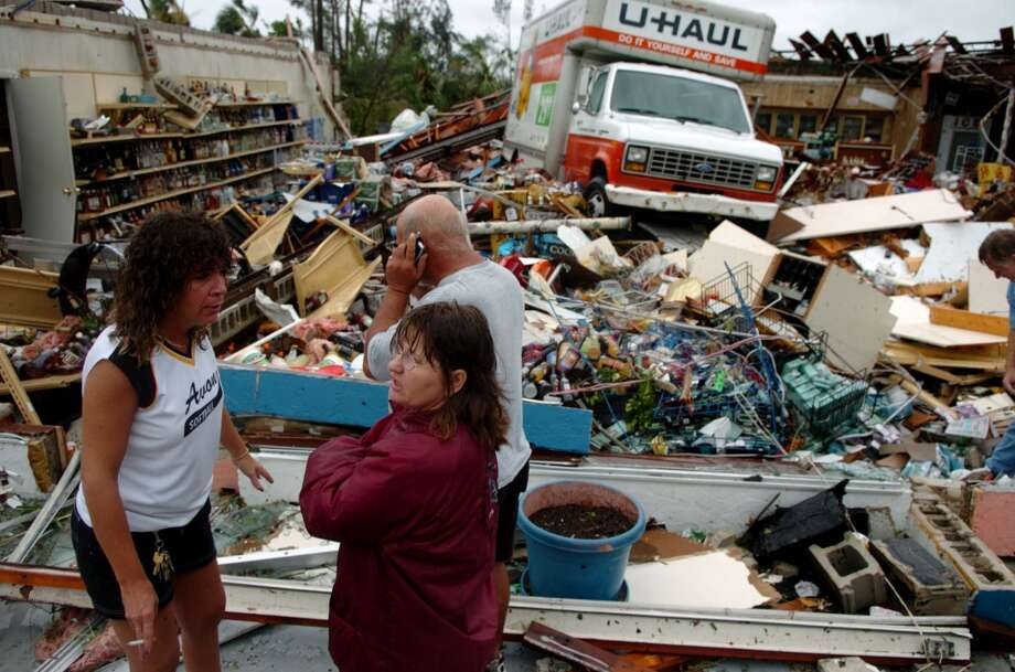 Hurricane Charley hit in 2004. Photo: ARMANDO SOLARES, AP