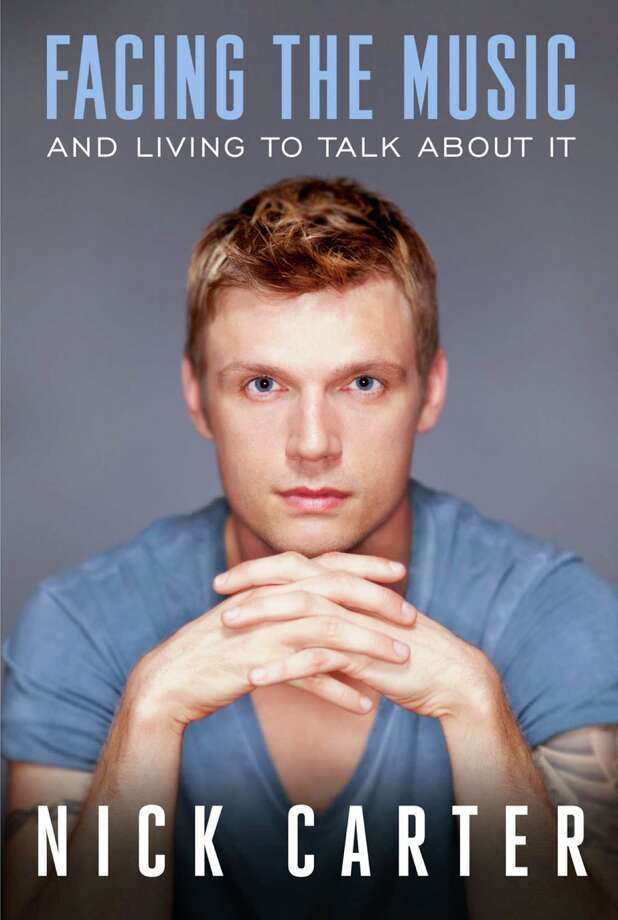 "This book cover image released by Bird Street Books shows ""Facing the Music and Living to Talk About It,"" by Nick Carter. The Backstreet Boys singer will release a memoir, ""Facing the Music and Living to Talk About It,"" on Sept. 24 via Bird Street Books. The 33-year-old is the first of the group to release a book. (AP Photo/Bird Street Books)"
