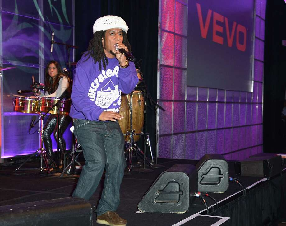 Tego Calderon, pictured Oct. 29, 2012 in Miami Beach, Fla. Photo: Gustavo Caballero, Getty Images / 2012 Getty Images