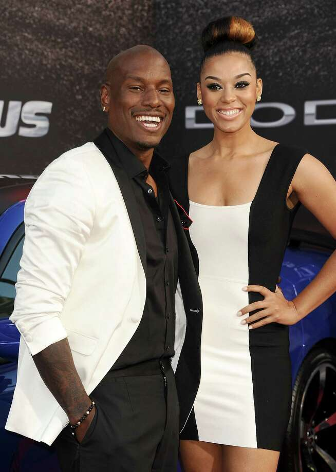 Tyrese Gibson and Lyndriette Kristal Smith , pictured May 21, 2013 in Universal City, Calif.  (Photo by Jason LaVeris/FilmMagic) Photo: Jason LaVeris, Getty / 2013 Jason LaVeris