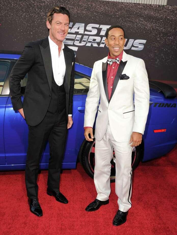 Luke Evans and Chris Bridges, pictured May 21, 2013 in Universal City, Calif.  (Photo by Steve Granitz/WireImage) Photo: Steve Granitz, Getty / 2013 Steve Granitz