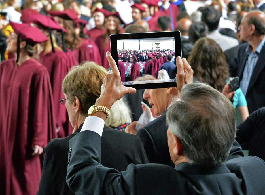Albany Medical College commencement begins at the Saratoga Performing Arts Center in Saratoga Springs, NY, Thursday May 23, 2013.  (John Carl D'Annibale / Times Union) Photo: John Carl D'Annibale / 10022119A