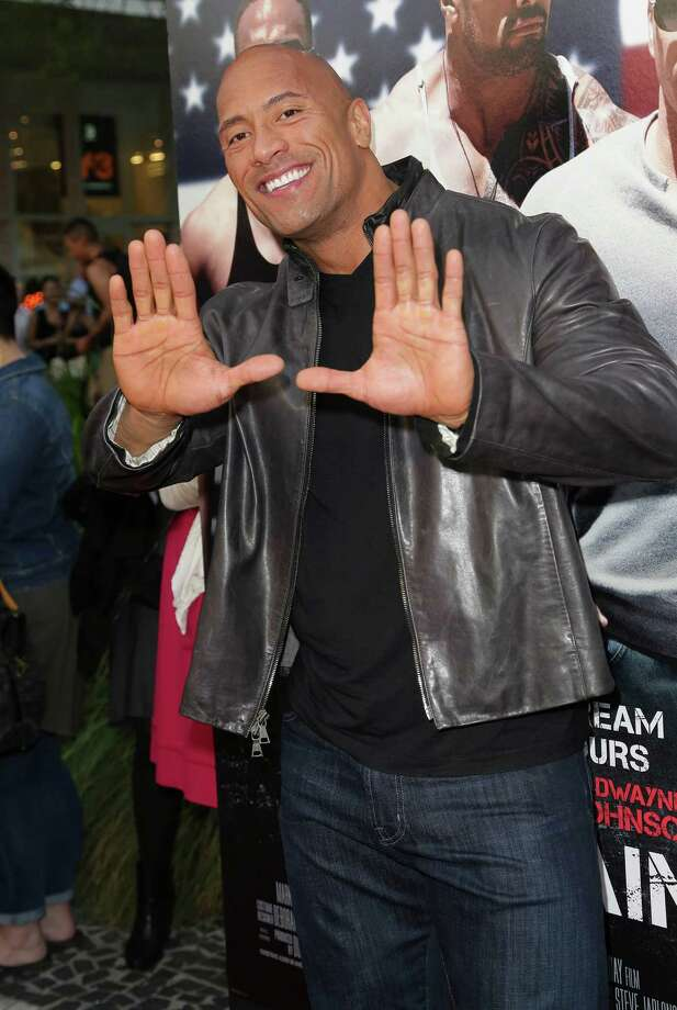 "Dwayne ""The Rock"" Johnson, pictured April 11, 2013 in Miami Beach, Fla. (Photo by Troy Rizzo/FilmMagic) Photo: Troy Rizzo, Getty / 2013 Troy Rizzo"