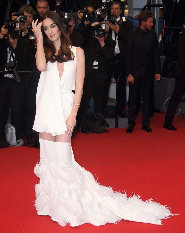 Paz Vega at the Premiere of 'Jimmy P. (Psychotherapy Of A Plains Indian)' in Cannes.