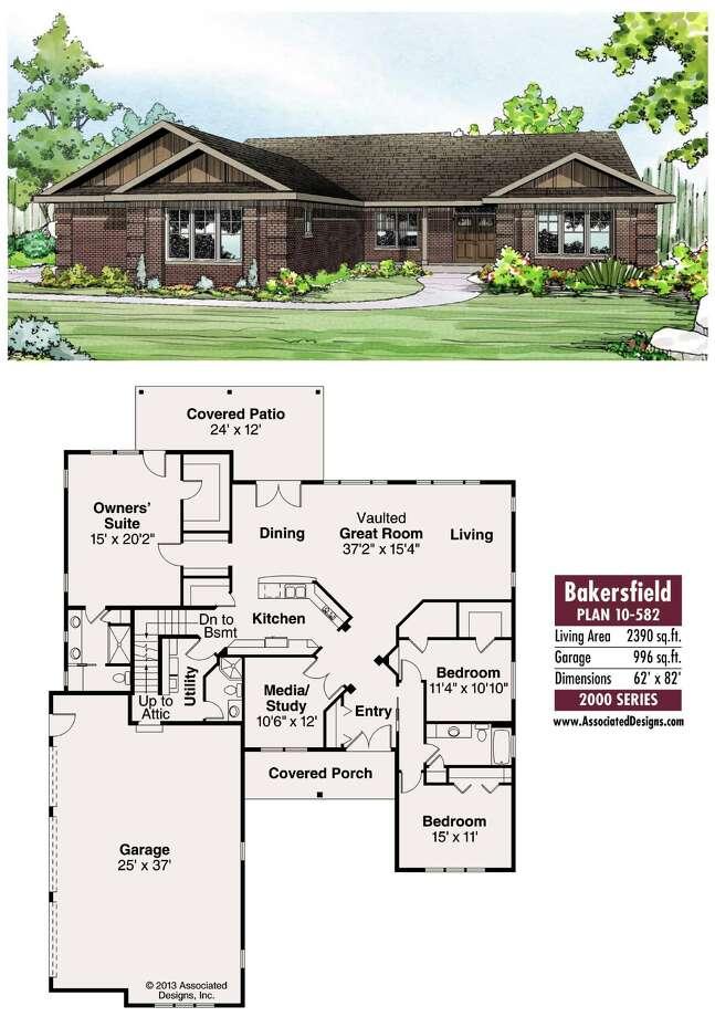Bakersfield Plan 10-582