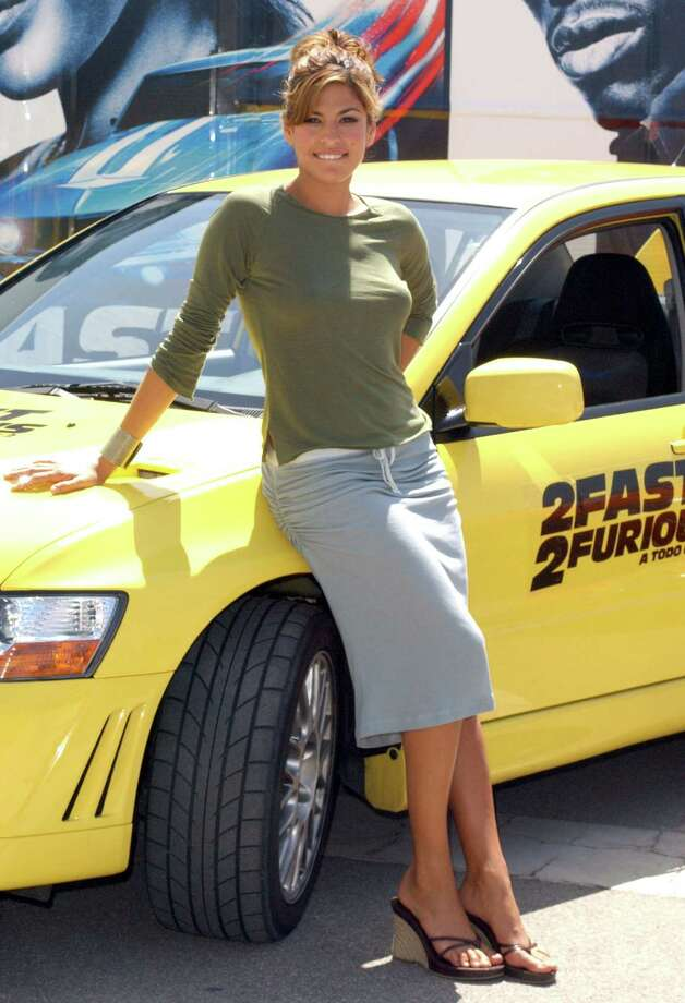 "Eva Mendes, pictured in 2003 promoting ""2 Fast 2 Furious."" (Photo by Lalo Yasky/WireImage) Photo: Lalo Yasky, Getty Images / WireImage"