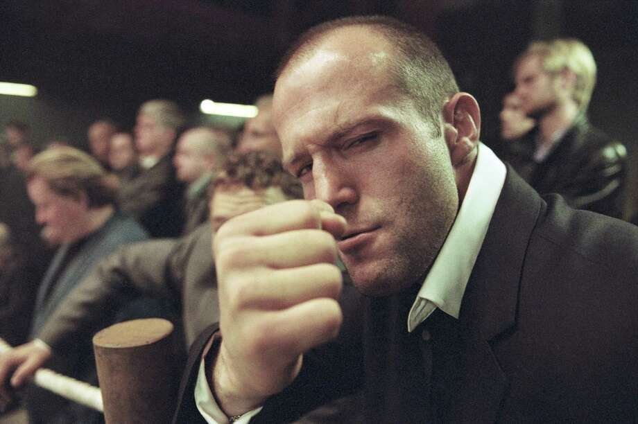 Jason Statham, pictured Sept. 1, 2000 in London. He's in Fast 6. (Photo by Daniel Smith/Getty Images). Photo: Daniel Smith, Getty Images / 2000 Getty Images