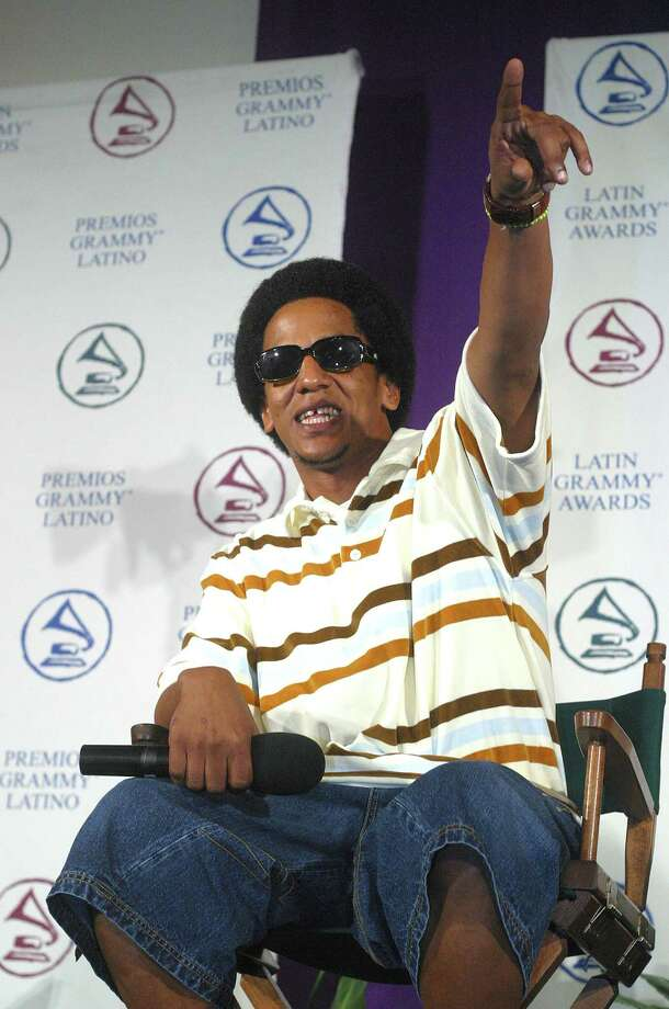 Tego Calderon, pictured Aug. 29, 2003 in Miami, Fla. Photo: Ronna Gradus, Getty Images / 2003 Getty Images