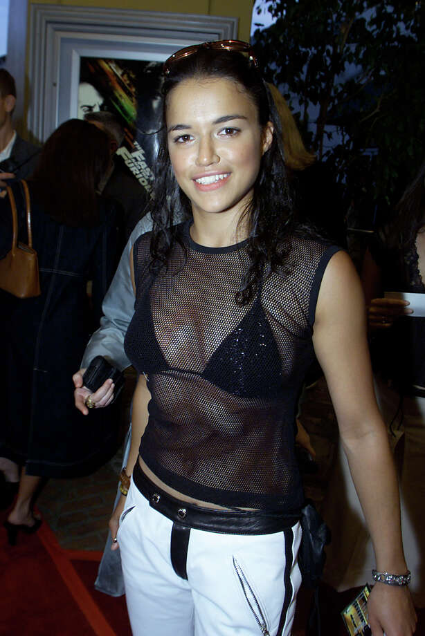 Michelle Rodriguez, pictured June 18, 2001. Photo: Kevin Winter, Getty Images / Getty Images North America