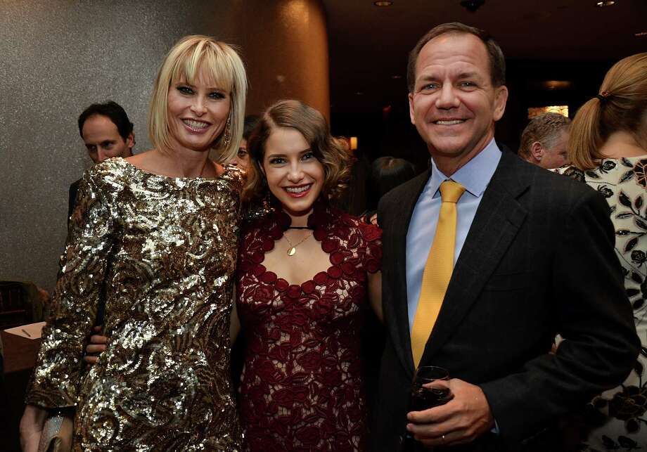 Chairman and chief executive officer of Tudor Investment Corp. Paul Tudor Jones, right, poses for a group portrait with wife and daughter Sonia and Caroline Jones, during a benefit for the Dubin Breast Center at the Mandarin Oriental in New York, U.S., on Dec. 12, 2011. The event raised money for the center, which is located at Mount Sinai Medical Center. Photographer: Amanda Gordon/Bloomberg *** Local Caption *** Paul Tudor Jones; Sonia Jones; Caroline Jones Photo: Amanda Gordon, Bloomberg / © 2012 Bloomberg Finance LP