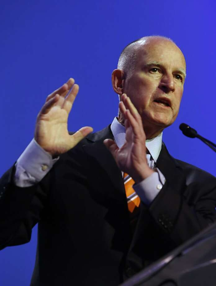 Gov. Jerry Brown says the scientists' research and warnings need to reach a wider audience. Photo: Rich Pedroncelli, Associated Press