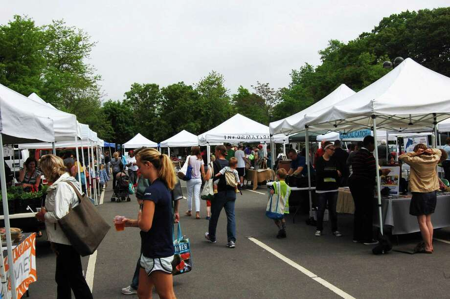 Westport Farmers' Market on its opening day of the season, May 23, 2013. Photo: Cameron Martin