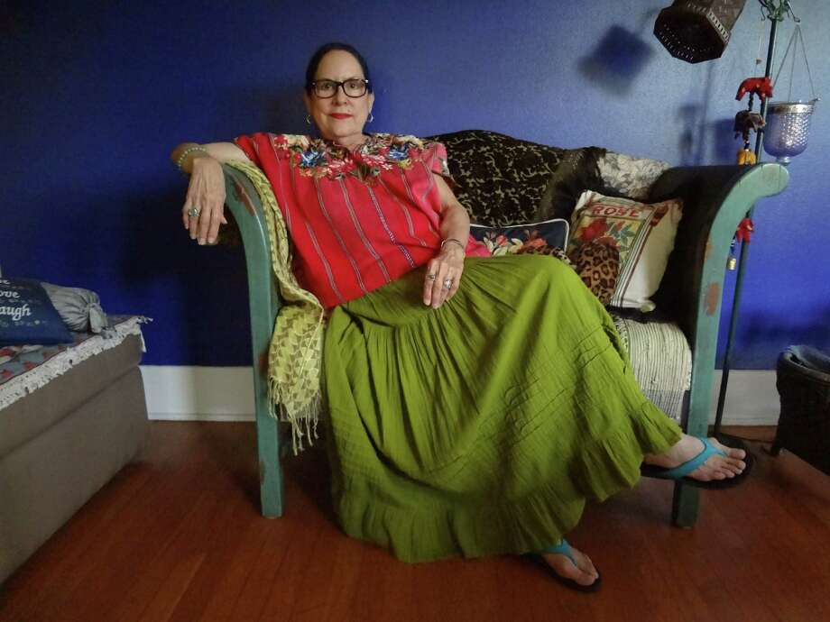 "Rosemary Catacalos, Poet Laureate of Texas, is seeing her 1984 collection ""Again for the First Time"" reissued. Photo: Courtesy"