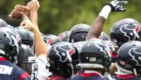 Texans finish up work for the week - Photo