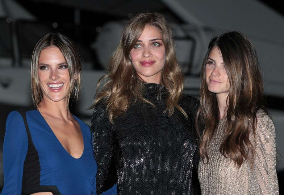 CANNES, FRANCE - MAY 22: Alessandra Ambrosio and Ana Beatriz Barros attending the Roberto Cavalli the Yacht Party during The 66th Annual Cannes Film Festival on May 22, 2013 in Cannes, France. (Photo by Mark Robert Milan/FilmMagic)
