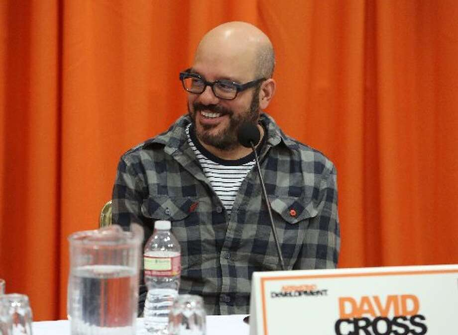 David Cross (Tobias Fünke): •	Married actress Amber Tamblyn in 2012 •	Co-starred as Ian the villain in Alvin and the Chipmunks (2007) Alvin and the Chipmunks the Squeakquel (2009) and Alvin and the Chipmunks: Chipwrecked (2011) •	co-starred with Arrested Development nephew Michael Cera in Year One (2009) •	co-starred with Kerri Russell and Arrested Development brother-in-law Will Arnett in Running Wilde, a sitcom by Arrested Development creator, Mitch Hurwitz (2010-2011) •	co-starred with Arrested Development brother-in-law Will Arnett in The Increasingly Poor Decisions of Todd Margaret (2010-2012) •	did voice work with Arrested Development mother-in-law Jessica Walter, father-in-law Jeffrey Tambor and co-star Judy Greer on animated series Archer (2009-present) •	voice work for Kung Fu Panda (2008) Kung Fu Panda 2 (2011) Megamind with Arrested Development co-star Ben Stiller (2011)