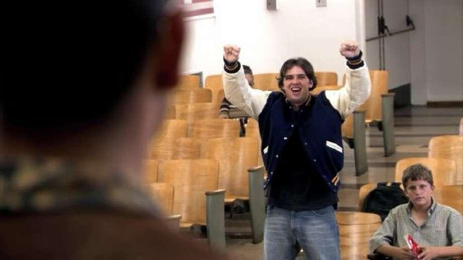 Justin Grant Wade (Steve Holt): *not returning •Appeared as Steve! on Greek (ABC Family 2008-2009)