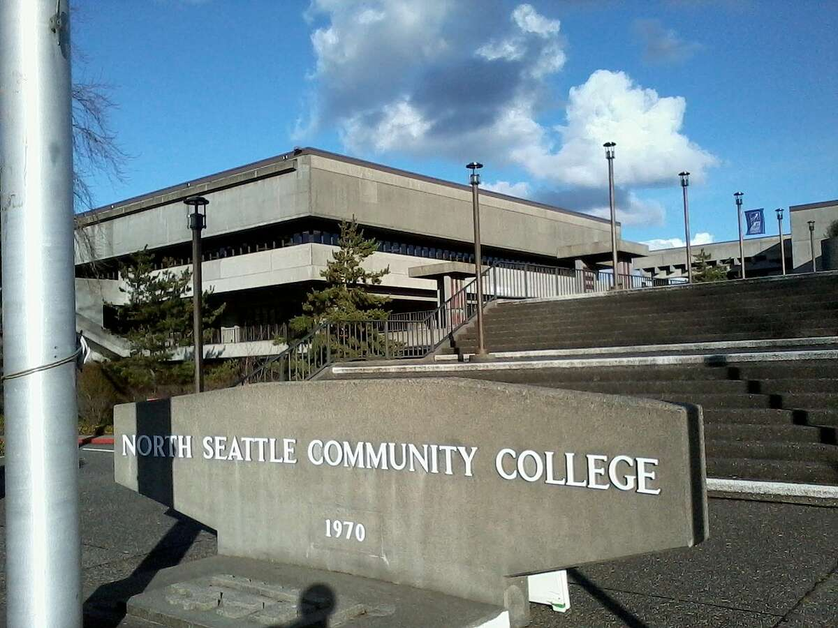 Front of North Seattle Community College on Feb. 7, 2013.