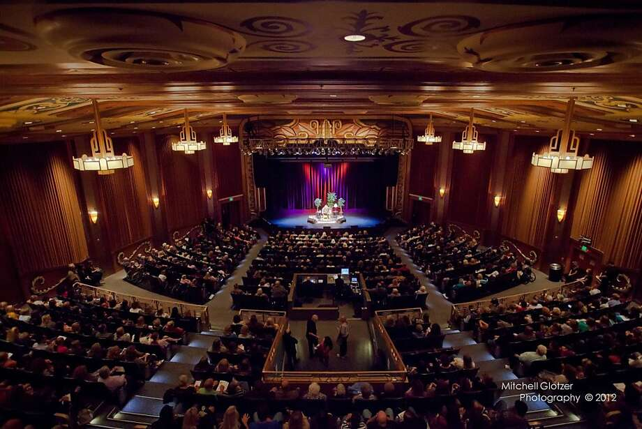 Napa's Uptown Theatre, which opened as a cinema in 1937, has found new life as a concert venue. Photo: Mitchell Glotzer