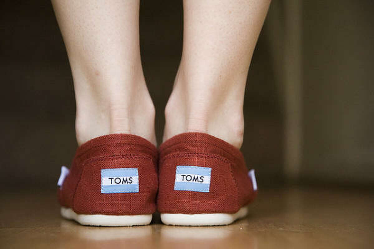 TOMS Shoes The company, which has given away more than a million pairs of shoes, was founded by evangelical Christian Blacke Mycoskie. Some customers have threatened to boycott over an interview with Focus on the Family.
