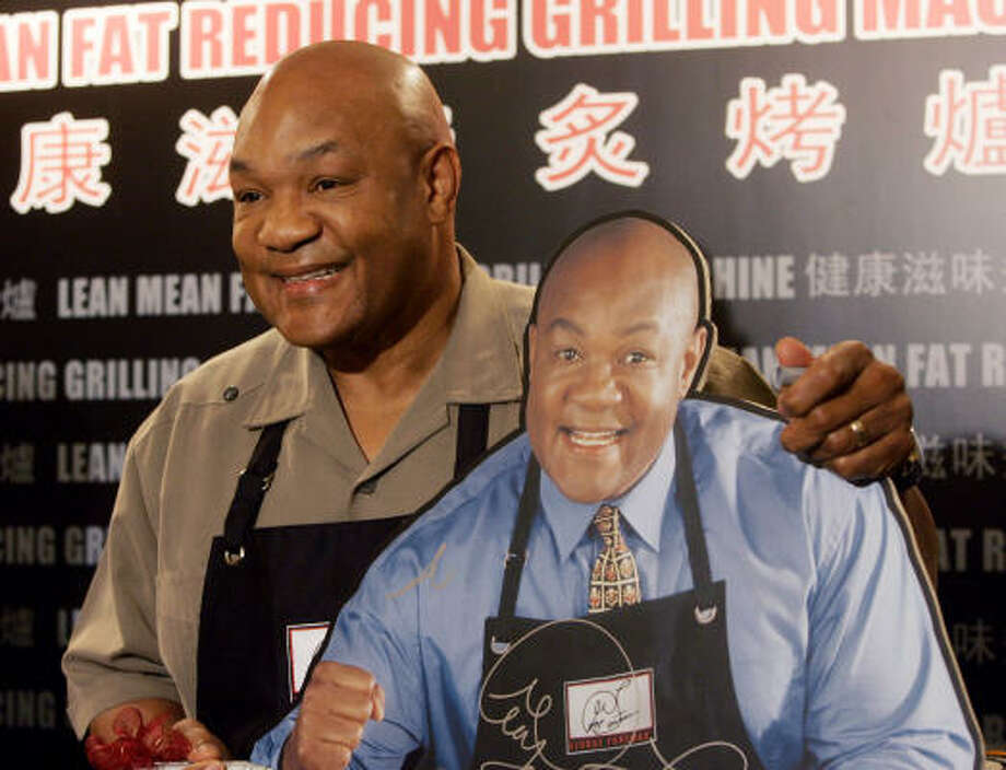 George Foreman Cooking