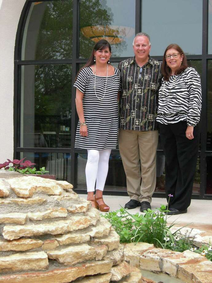 Siblings Diana Barrios Treviño (from left) Louis Barrios and Teresa Barrios Ogden have opened Viola's Ventanas.