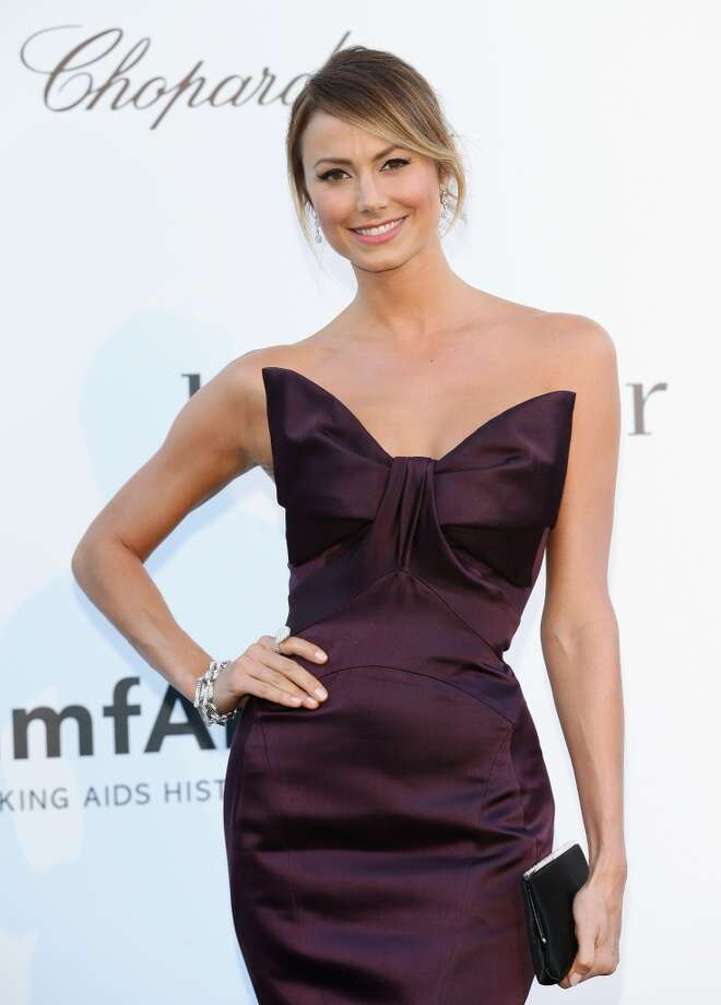 CAP D'ANTIBES, FRANCE - MAY 23:  Stacy Keibler attends amfAR's 20th Annual Cinema Against AIDS during The 66th Annual Cannes Film Festival at Hotel du Cap-Eden-Roc on May 23, 2013 in Cap d'Antibes, France.  (Photo by Vittorio Zunino Celotto/French Select via Getty Images)