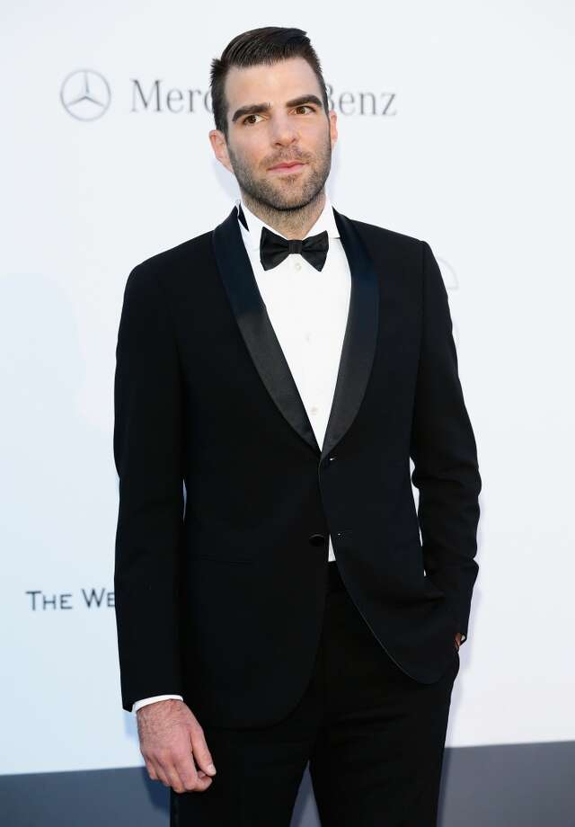 CAP D'ANTIBES, FRANCE - MAY 23:  Actor Zachary Quinto attends amfAR's 20th Annual Cinema Against AIDS during The 66th Annual Cannes Film Festival at Hotel du Cap-Eden-Roc on May 23, 2013 in Cap d'Antibes, France.  (Photo by Vittorio Zunino Celotto/French Select via Getty Images)
