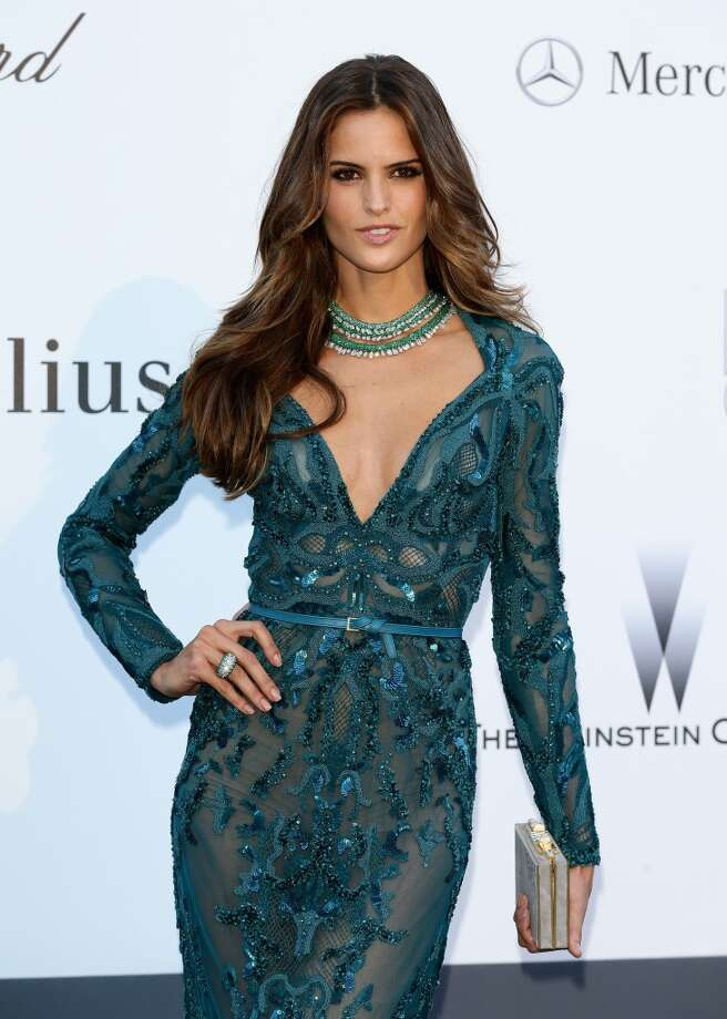 CAP D'ANTIBES, FRANCE - MAY 23:  Model Izabel Goulart attends amfAR's 20th Annual Cinema Against AIDS during The 66th Annual Cannes Film Festival at Hotel du Cap-Eden-Roc on May 23, 2013 in Cap d'Antibes, France.  (Photo by Vittorio Zunino Celotto/French Select via Getty Images)