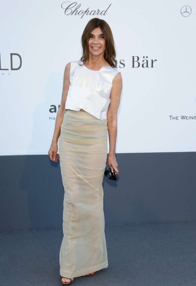 CAP D'ANTIBES, FRANCE - MAY 23:  Carine Roitfeld attends amfAR's 20th Annual Cinema Against AIDS during The 66th Annual Cannes Film Festival at Hotel du Cap-Eden-Roc on May 23, 2013 in Cap d'Antibes, France.  (Photo by Vittorio Zunino Celotto/French Select via Getty Images)