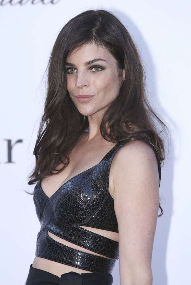 Julia Restoin Roitfeld arrives at amfAR Cinema Against AIDS benefit at the Hotel du Cap-Eden-Roc, during the 66th international film festival, in Cap d'Antibes, southern France, Thursday, May 23, 2013. (Photo by Joel Ryan/Invision/AP)