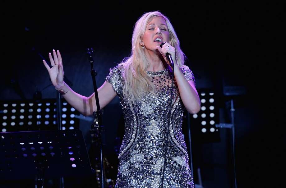 CAP D'ANTIBES, FRANCE - MAY 23:  Ellie Goulding performs on stage at amfAR's 20th Annual Cinema Against AIDS during The 66th Annual Cannes Film Festival at Hotel du Cap-Eden-Roc on May 23, 2013 in Cap d'Antibes, France.  (Photo by Vittorio Zunino Celotto/French Select via Getty Images)