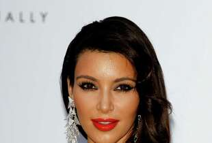 Kim Kardashian arrives at the 2012 amfAR's Cinema Against AIDS during the 65th Annual Cannes Film Festival at Hotel Du Cap on May 24, 2012 in Cap D'Antibes, France.