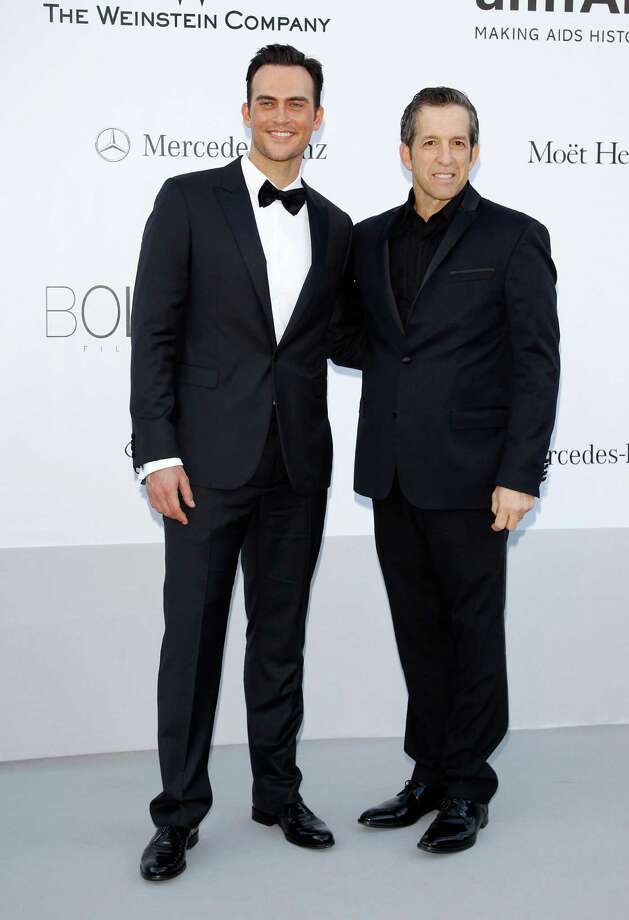 CAP D'ANTIBES, FRANCE - MAY 24:  (L-R) amfAR Chairman Kenneth Cole and actor Cheyenne Jackson arrive at the 2012 amfAR's Cinema Against AIDS during the 65th Annual Cannes Film Festival at Hotel Du Cap on May 24, 2012 in Cap D'Antibes, France. Photo: Andreas Rentz, Getty Images / 2012 Getty Images