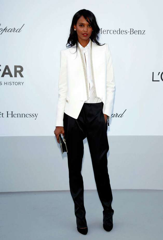 CAP D'ANTIBES, FRANCE - MAY 24:  Model Liya Kebede arrives at the 2012 amfAR's Cinema Against AIDS during the 65th Annual Cannes Film Festival at Hotel Du Cap on May 24, 2012 in Cap D'Antibes, France. Photo: Andreas Rentz, Getty Images / 2012 Getty Images