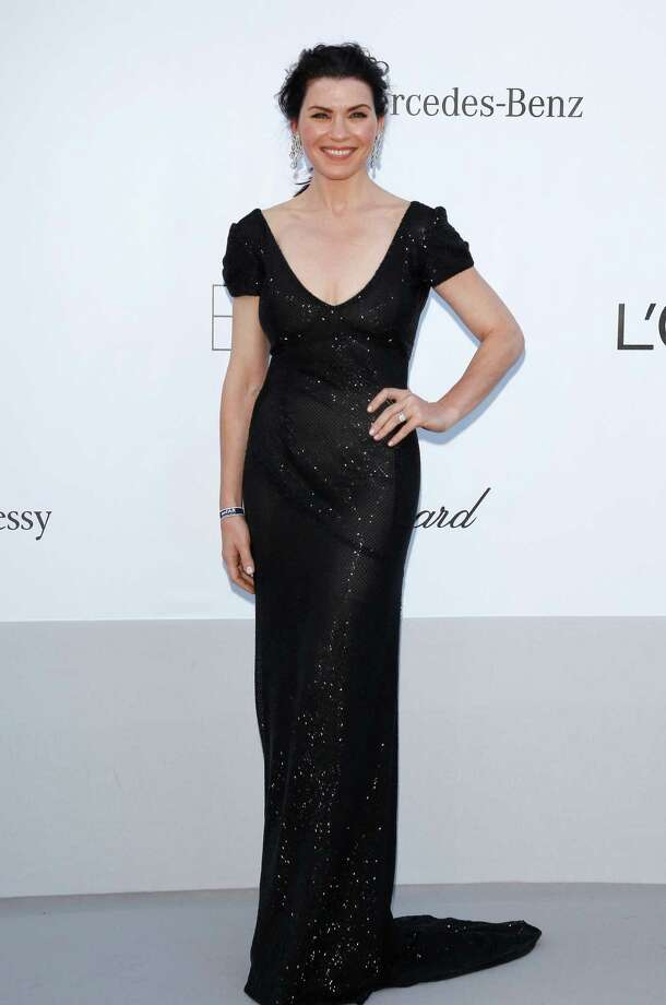 CAP D'ANTIBES, FRANCE - MAY 24:  Actress Julianna Margulies arrives at the 2012 amfAR's Cinema Against AIDS during the 65th Annual Cannes Film Festival at Hotel Du Cap on May 24, 2012 in Cap D'Antibes, France. Photo: Andreas Rentz, Getty Images / 2012 Getty Images