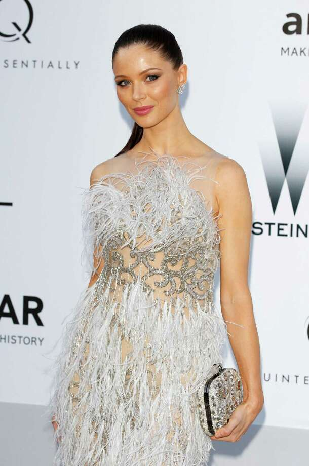 CAP D'ANTIBES, FRANCE - MAY 24:  Georgina Chapman arrives at the 2012 amfAR's Cinema Against AIDS during the 65th Annual Cannes Film Festival at Hotel Du Cap on May 24, 2012 in Cap D'Antibes, France. Photo: Andreas Rentz, Getty Images / 2012 Getty Images