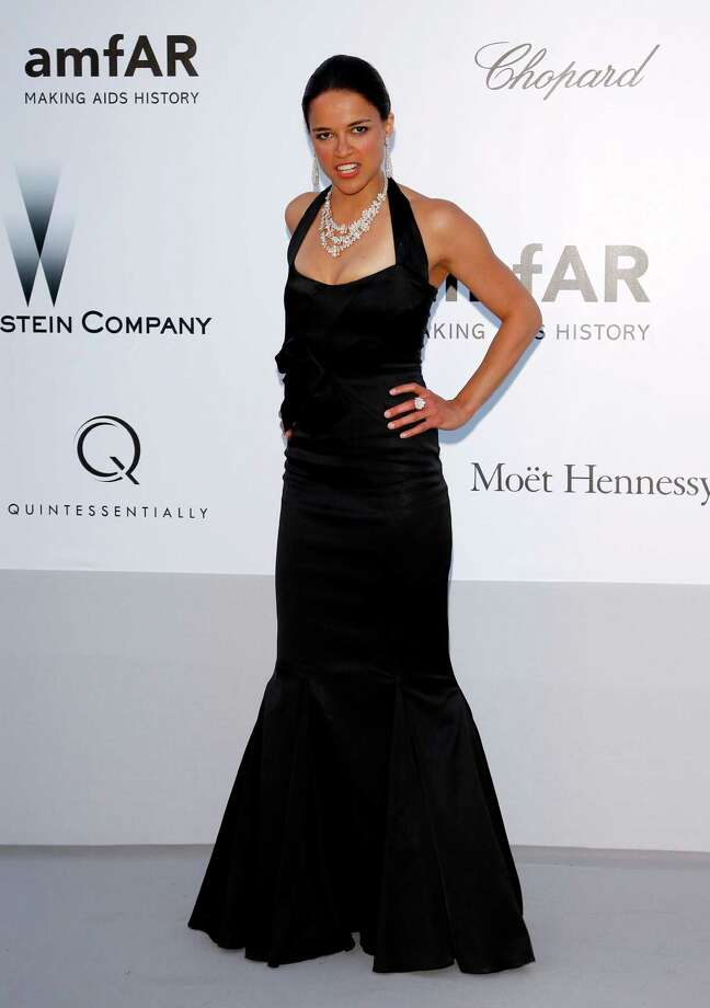 CAP D'ANTIBES, FRANCE - MAY 24:  Actress Michelle Rodriguez arrives at the 2012 amfAR's Cinema Against AIDS during the 65th Annual Cannes Film Festival at Hotel Du Cap on May 24, 2012 in Cap D'Antibes, France. Photo: Andreas Rentz, Getty Images / 2012 Getty Images