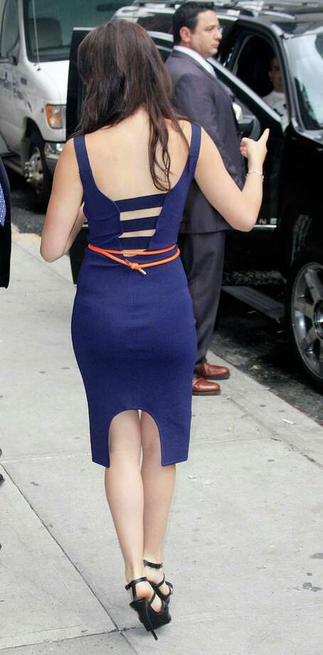 "Departing the ""Late Show With David Letterman"" on May 19, 2011 in New York. Photo: Marcel Thomas, FilmMagic / 2011 Marcel Thomas"