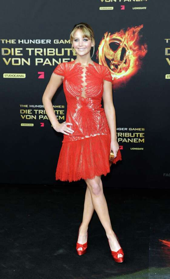 "In Marchesa at the German premiere of ""The Hunger Games"" on March 16, 2012 in Berlin. Photo: Target Presse Agentur Gmbh, WireImage / 2012 Target Presse Agentur Gmbh"