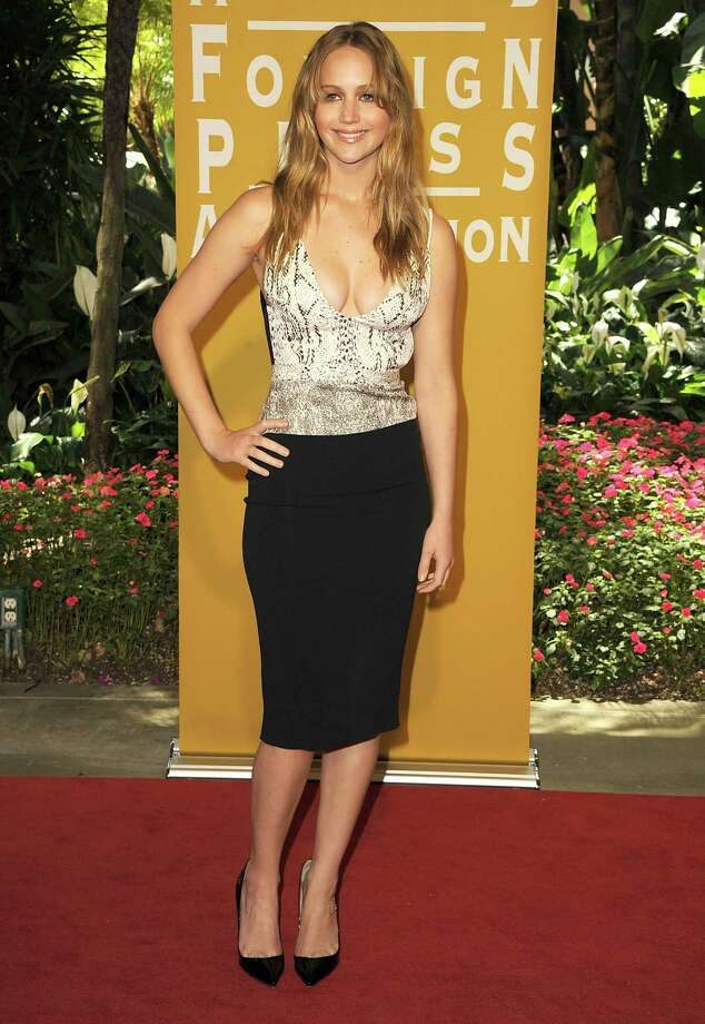 At the Hollywood Foreign Press Association annual installation luncheon on Aug. 9, 2012 in Beverly Hills, Calif., wearing Narciso Rodriguez. Photo: Steve Granitz, WireImage / 2012 Steve Granitz