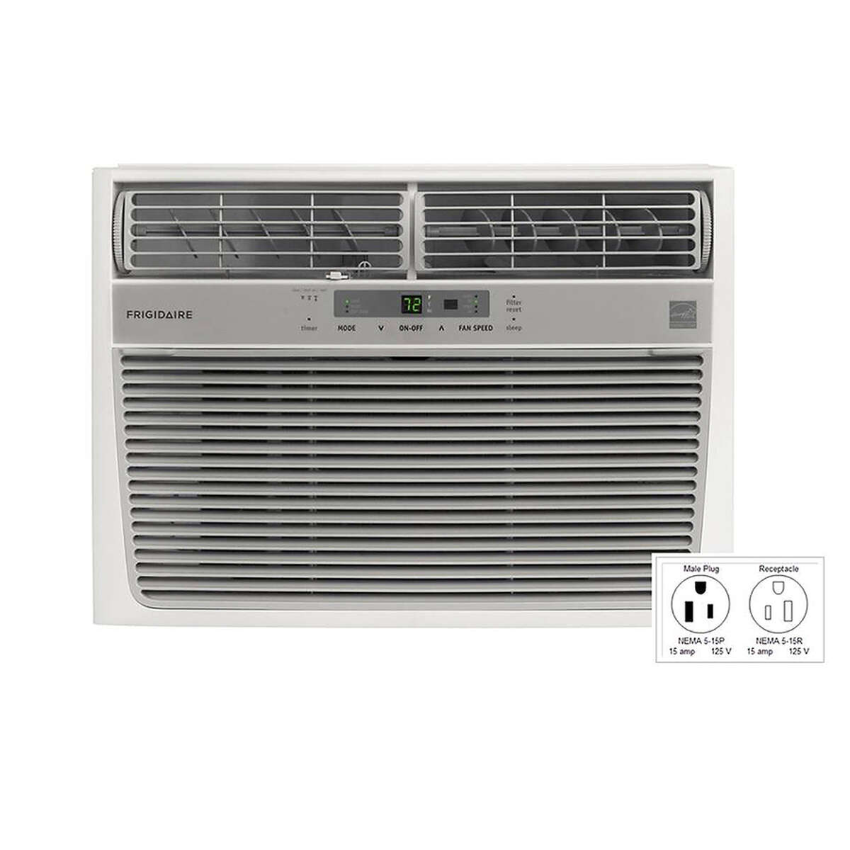 Frigidaire, window room air conditioner,, 15,100 British thermal units,  Energy Star certified: 399.00