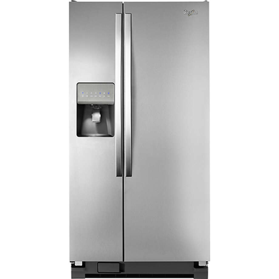 Whirlpool, side-by-side refrigerator, 22 cubic feet, Energy Star certified: $1,999.99