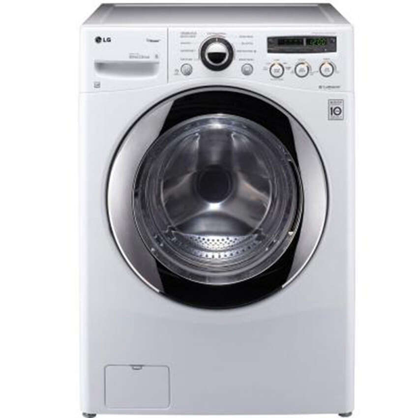 LG Electronics, 3.6 cubic feet, front load steam washer, Energy Star certified: $727.20